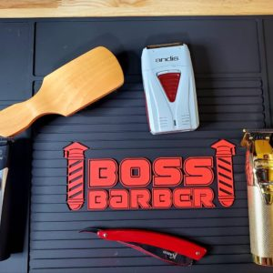 Barber Clipper & Tool Mat